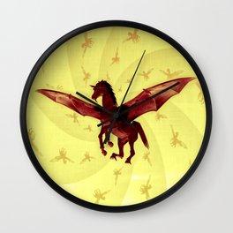 Demon Horse Wall Clock