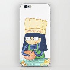 Kiss the Chef iPhone & iPod Skin