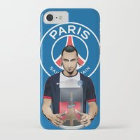 zlatan iPhone & iPod Cases featuring Football Stars: Zlatan Ibrahimovic by Akyanyme
