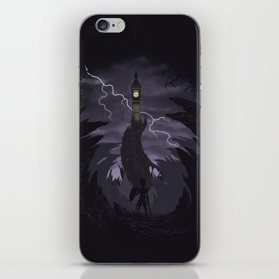 The Clock Tower iPhone & iPod Skin