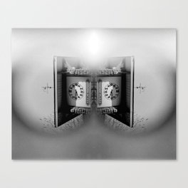 Blind man's time Canvas Print