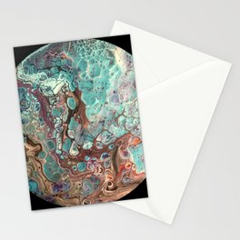 Cell Planet Stationery Cards