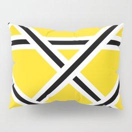 Criss-Cross Pillow Sham