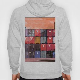 Colorful containers I Hoody