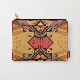 Ethnic Design Dhaka Tattoo Carry-All Pouch