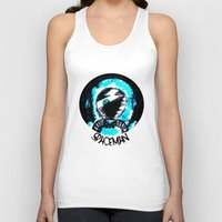 spaceman Tank Tops featuring Spaceman by Humberto Milhomem