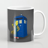 lemongrab Mugs featuring Doctor Lemongrab  by MUSENYO