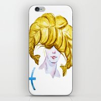 pisces iPhone & iPod Skins featuring Pisces by Aloke Design