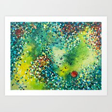 Dimensions of Flow Art Print