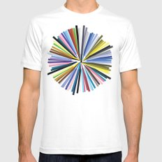 Colours Mens Fitted Tee MEDIUM White