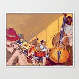Restaurant Bossa Nova - Archie of Outlandish Canvas Print