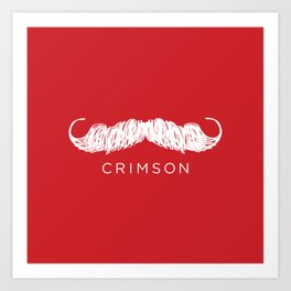 Crimson Butcher Art Print
