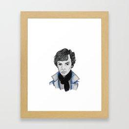 sherock Framed Art Print