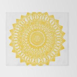 Sunshine-Yellow Throw Blanket