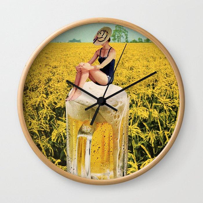 Summer Daze Wall Clock