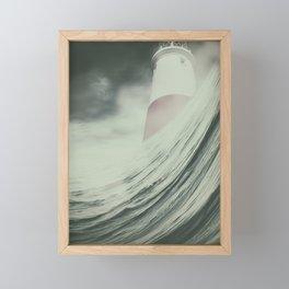 Port in a Storm Framed Mini Art Print