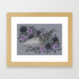 Dive II Framed Art Print