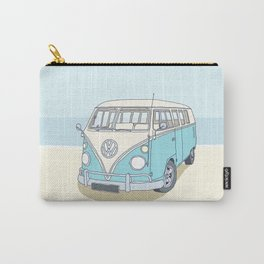 Newquay Cornwall Campervan Carry-All Pouch