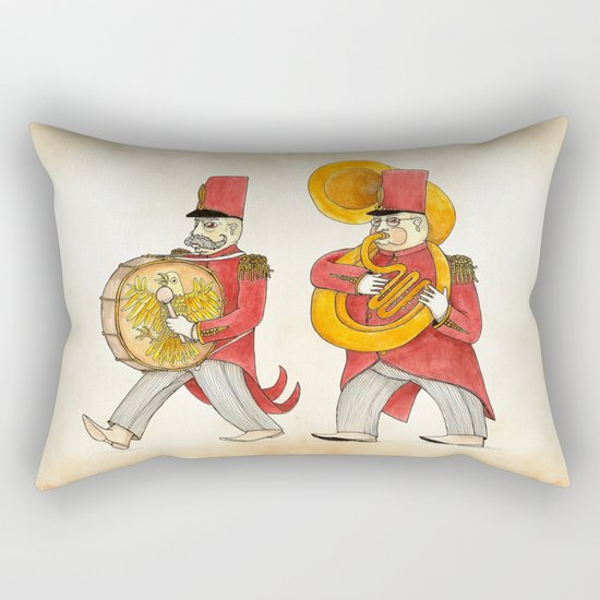 García, tuba Rectangular Pillow