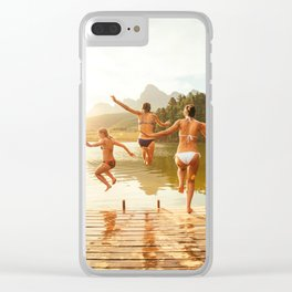 Hot Summer Trip ||I||I| Clear iPhone Case