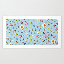 Gummi Heaven Art Print