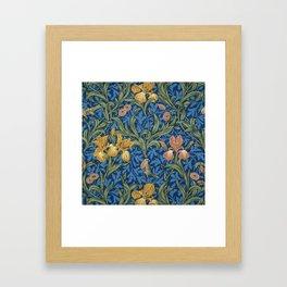 William Morris Flowers Framed Art Print