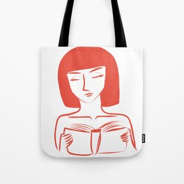 Reader Tote Bag