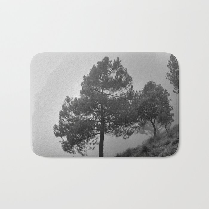 """Misty Mountain"". Into the fog Bath Mat"