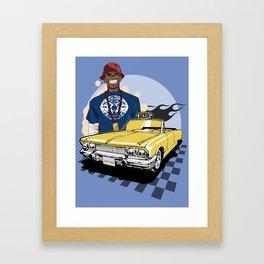 B.D. Joe Framed Art Print