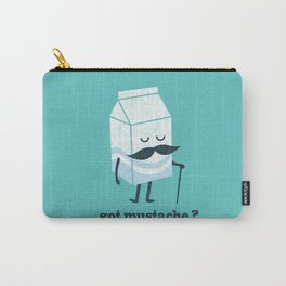 Got mustache? Carry-All Pouch