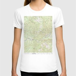 OR Mc Kenzie River 283102 1983 topographic map T-shirt