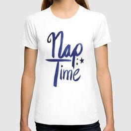 Nap Time | Lazy Sleep Typography T-shirt