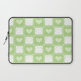 Love is Green Laptop Sleeve