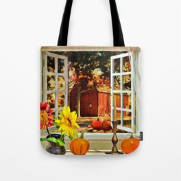 Autumn Harvest Painting by Liane Wright Tote Bag