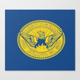 flag of atlanta Canvas Print