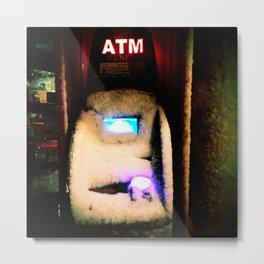 ATM Gangster Metal Print