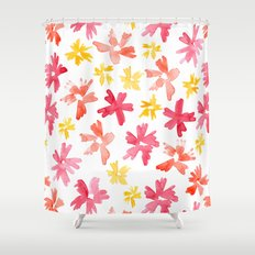 Sunny Florals Shower Curtain