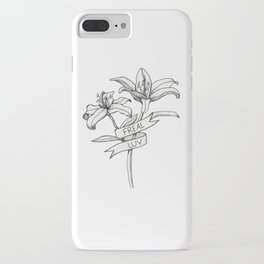 FREAL LUV iPhone Case