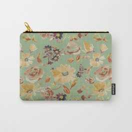 summer watercolor neutral Carry-All Pouch