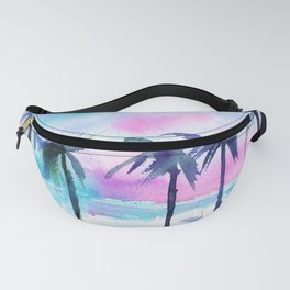 Summer vibes #3 || watercolor Fanny Pack