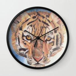 baby tiger Wall Clock