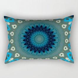 Basal Color Mandala 6 Rectangular Pillow