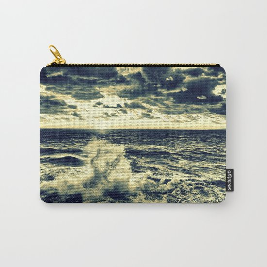 water : Crashing Waves Carry-All Pouch