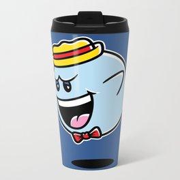 Super Cereal Ghost Metal Travel Mug