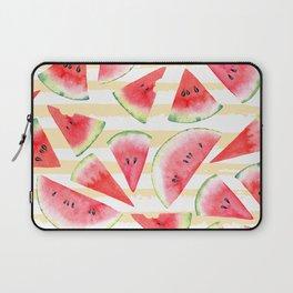 Watercolor Watermelon Laptop Sleeve