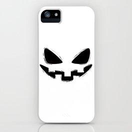 Pumpkin Spice Grin iPhone Case