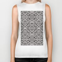 baroque Biker Tanks featuring Baroque Style Inspiration G91 by MedusArt