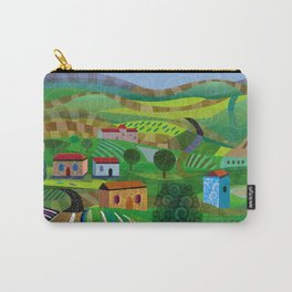 Santa Barbara Wine and Cheese Carry-All Pouch