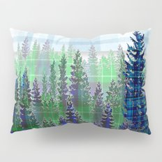 Plaid Forest Pillow Sham