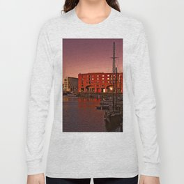 Albert Docks, Liverpool Long Sleeve T-shirt